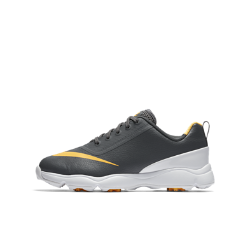 Кроссовки для гольфа для школьников Nike Jr. ControlКроссовки для гольфа для школьников Nike Jr. Control с мягкой и легкой системой амортизации и технологией Integrated Traction обеспечивают комфорт и стабилизацию во время игры.<br>