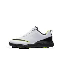 Кроссовки для гольфа для дошкольников/школьников Nike Jr. ControlКроссовки для гольфа для дошкольников/школьников Nike Jr. Control с мягкой и легкой системой амортизации и технологией Integrated Traction обеспечивают комфорт и стабилизацию вовремя игры.<br>