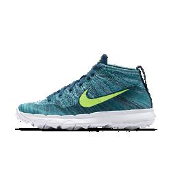 Мужские кроссовки для гольфа Nike Flyknit ChukkaГибкие и воздухопроницаемые мужские кроссовки для гольфа Nike Flyknit Chukka обеспечивают динамическую адаптивную поддержку стопы и воздухопроницаемость. Подошва средней толщины и эластичный материал верха, который облегает стопу, как носок, создают яркий стиль и предотвращают попадание мелких камней в обувь.<br>