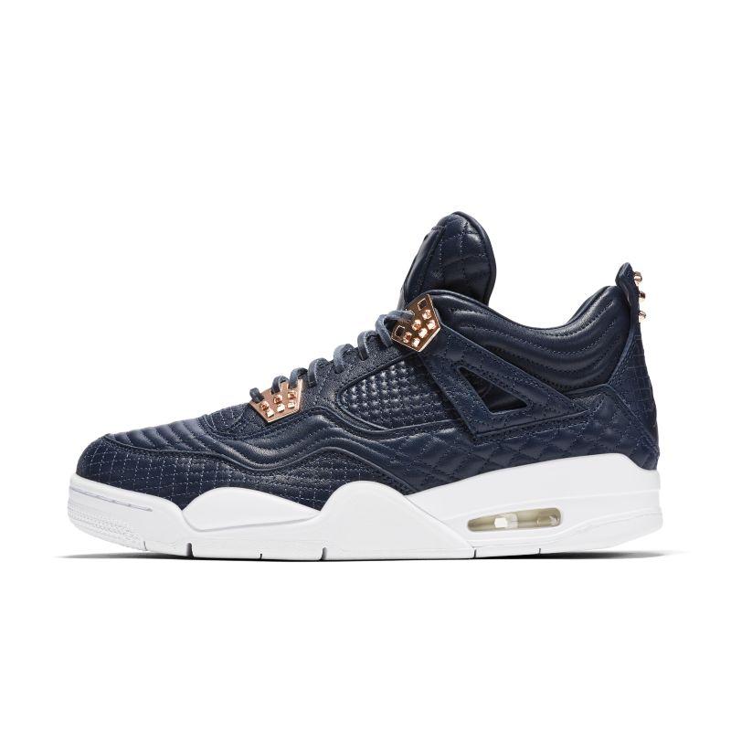Nike Air Jordan 4 Retro Premium Men's Shoe - Blue Image