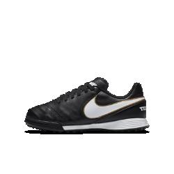Футбольные бутсы для игры на газоне для дошкольников/школьников Nike Jr. TiempoX Legend VI TFФутбольные бутсы для игры на газоне для дошкольников/школьников Nike TiempoX Jr Legend VI TF обеспечивают превосходное сцепление с поверхностью благодаря резиновым шипам, предназначенным для игры на искусственных покрытиях. Верх из мягкой высококачественной кожи обеспечивает точность во время ведения мяча, пасов и ударов.<br>