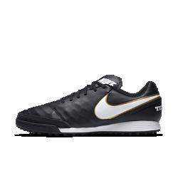 Футбольные бутсы для игры на газоне Nike TiempoX Genio II LeatherФутбольные бутсы для игры на газоне Nike TiempoX Genio II Leather обеспечивают превосходное сцепление благодаря резиновым шипам, предназначенным для игры на искусственных покрытиях. Верх из мягкой высококачественной кожи обеспечивает потрясающую точность во время ведения мяча, пасов и ударов.<br>