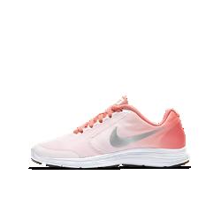 Беговые кроссовки для школьников Nike Revolution 3Беговые кроссовки для школьников Nike Revolution 3 с легким верхом из сетки и бесшовными кожаными накладками для воздухопроницаемости и поддержки.<br>