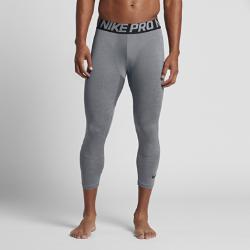 Мужские баскетбольные тайтсы Nike Three-QuarterМужские баскетбольные тайтсы Nike Three-Quarter из влагоотводящей ткани предназначены для ношения под шортами и обеспечивают воздухопроницаемость и комфорт в течение всей игры.  Комфорт  Ткань Dri-FIT обеспечивает превосходную воздухопроницаемость и комфорт, выводя влагу на поверхность ткани и позволяя коже дышать.  Зональная воздухопроницаемость  Вентиляция на задней части штанин повышает воздухопроницаемость, а ластовица из сетки обеспечивает отличный воздухообмен.<br>