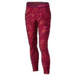 Тайтсы для девочек школьного возраста Nike ProТайтсы для тренинга для девочек школьного возраста Nike Pro из влагоотводящей ткани с сетчатыми вставками обеспечивают длительный комфорт во время тренировок, соревнований или игры.<br>