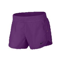Беговые шорты для девочек школьного возраста Nike Dry 7,5 смБеговые шорты для девочек школьного возраста Nike Dry 7,5 см из эластичной влагоотводящей ткани с подкладкой для максимального комфорта и надежной фиксации.<br>