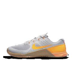 Мужские кроссовки для тренинга Nike Metcon 2Прочные и универсальные мужские кроссовки для тренинга Nike Metcon 2 созданы для самых интенсивных тренировок — от упражнений с канатом и у стены до бега на короткие дистанции и поднятия веса.<br>