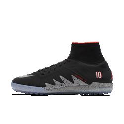 Футбольные бутсы для игры на газоне Nike HypervenomX Proximo NJR x JordanФутбольные бутсы для игры на газоне Nike HypervenomX Proximo NJR x Jordan, созданные для стремительных атак, объединяют в себе фирменный стиль двух легенд.  Преимущества  Текстурированный верх и асимметричная шнуровка для улучшенного касания мяча Технология Dynamic Fit обеспечивает безупречную посадку Нити Flywire фиксируют стопу Технология NikeSkin обеспечивает плотную посадку и оптимальное касание Подошва из материала Phylon во всю длину и контурная стелька для амортизации и поддержки Не оставляющая следов подметка для игры в зале (IC) идеально подходит для улицы, площадки и зала  КОЛЛАБОРАЦИЯ NJR X JORDAN  В честь пяти национальных чемпионатов Бразилии два легендарных спортивных бренда — Nike Football и Jordan — создали новую версию модели, вдохновленную коллекцией Jordan V: матовые детали, светоотражающий Swoosh и числа 23 и 10 — номера Майкла Джордана и Неймара в национальной сборной. Преимущества  Текстурированный верх и асимметричная шнуровка для улучшенного касания мяча Технология Dynamic Fit обеспечивает безупречную посадку Невесомые нити Flywire для динамической поддержки Подошва из материала Phylon во всю длину и контурная стелька для легкости, амортизации и поддержки Технологии Nike All Conditions Control (ACC) и NikeSkin обеспечивают оптимальный контроль мяча как на мокром поле, так и в сухую погоду Подметка для игры на газоне (TF) с резиновыми шипами для сцепления на искусственных покрытиях Информация о товаре  Технология Nike All Conditions Control (ACC) гарантирует оптимальный контроль мяча как в сухую, так и в дождливую погоду Асимметричная шнуровка расширяет возможности контроля и касания мяча Не оставляющая следов подметка<br>
