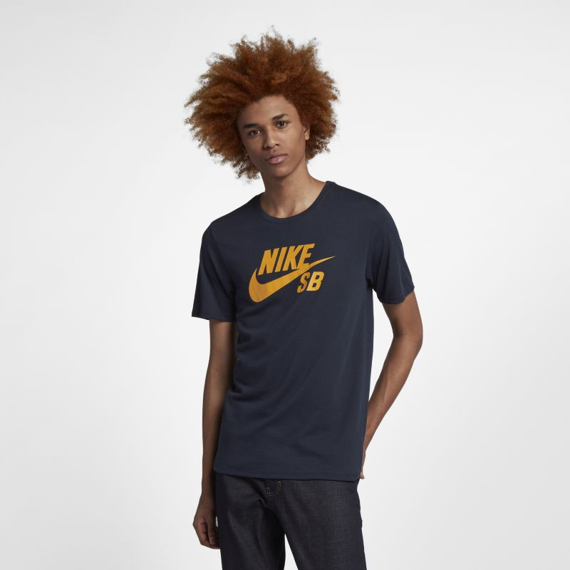 Nike SB Logo Men's T-Shirt - Blue