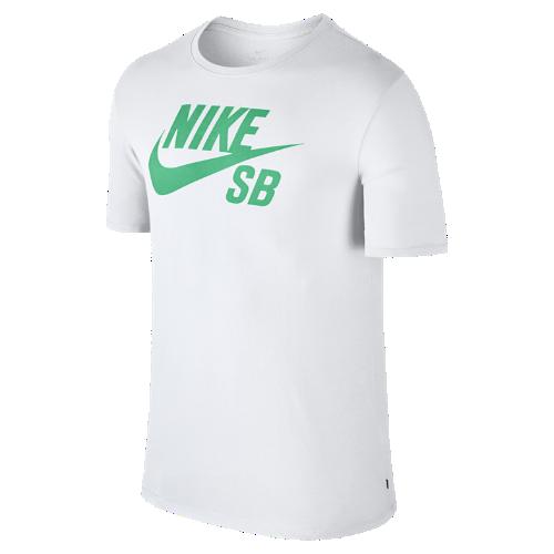 <ナイキ(NIKE)公式ストア> NEW ナイキ SB ロゴ メンズ Tシャツ 821947-103 ホワイト 会員は送料無料