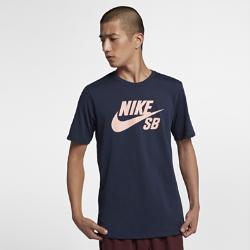 <ナイキ(NIKE)公式ストア>ナイキ SB ロゴ メンズ Tシャツ 821947-462 ブルー★11/23から29日の7日間限定、ブラックフライデー キャンペーン中!画像