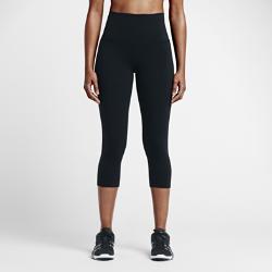 Женские капри для тренинга с высокой посадкой Nike Power Legendary 51 смЖенские капри для тренинга с высокой посадкой Nike Power Legendary 51 см из эластичной влагоотводящей ткани плотно облегают ноги по всей длине, обеспечивая защиту и поддержку.<br>