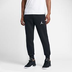 Мужские брюки Jordan FlightМужские брюки Jordan Flight из ткани френч терри с начесом и отворотами из рубчатой ткани обеспечивают легкость, тепло и надежную посадку.<br>
