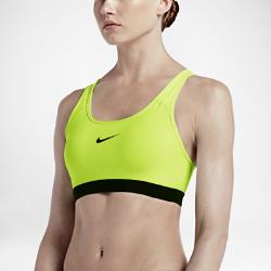 Спортивное бра со средней поддержкой Nike Classic PaddedСпортивное бра со средней поддержкой Nike Classic Padded с Т-образной спиной обеспечивает поддержку и свободу движений во время тренировки. Это идеальная модель для занятий средней интенсивности, например велоспорта, танцев или кардиотренировок.<br>