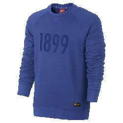 Мужская толстовка FC Barcelona Nike Sportswear AuthenticМужская толстовка FC Barcelona Nike Sportswear Authentic из смесовой ткани на основе хлопка с символикой команды обеспечивает комфорт и отлично защищает от холода.<br>
