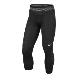 Мужские тайтсы для тренинга длиной 3/4 Nike Pro HyperCoolБолее дышащие по сравнению с предыдущими моделями мужские тайтсы для тренинга длиной 3/4 Nike Pro HyperCool обеспечивают вентиляцию и комфорт во время самых интенсивных тренировок.  Вентилируемая конструкция  Вставки из сетки по бокам и сзади обеспечивают циркуляцию воздуха.  Компрессионная посадка  Компрессионная посадка обеспечивает длительную поддержку и свободу движений во время тренинга.  Дышащий пояс  Гладкий пояс с инновационной конструкцией обеспечивает плотную посадку и воздухопроницаемость, позволяя полностью сконцентрироваться на тренировке.<br>