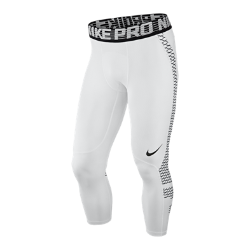 Мужские тайтсы для тренинга длиной 3/4 Nike Pro HyperCoolБолее дышащие в сравнении с предыдущими моделями мужские тайтсы для тренинга длиной 3/4 Nike Pro HyperCool обеспечивают вентиляцию и комфорт во время самых интенсивных тренировок.  Технология охлаждения  Вставки из сетки сзади и по бокам дарят ощущение прохлады, а технология Dri-FIT отводит влагу от кожи.  Компрессионная посадка  Компрессионная посадка обеспечивает длительную поддержку и свободу движений во время тренинга.  Дышащий пояс  Гладкий пояс с инновационной конструкцией обеспечивает плотную посадку и воздухопроницаемость, позволяя полностью сконцентрироваться на тренировке.<br>
