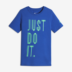 Nike Reflective Just Do It Older Kids' (Boys') T-Shirt
