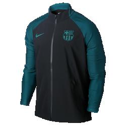 Мужская футбольная куртка FC Barcelona StrikeМужская футбольная куртка FC Barcelona Strike из эластичной ткани с эргономичными швами обеспечивает естественную свободу движений на поле.<br>