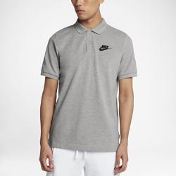 Мужская рубашка-поло Nike SportswearМужская рубашка-поло Nike Sportswear из чистого хлопка с разрезами в нижней кромке обеспечивает длительный комфорт и естественную свободу движений.<br>