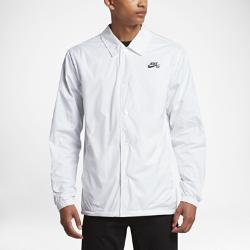 Мужская куртка Nike SB Shield CoachesМужская куртка Nike SB Shield Coaches из дышащего и водоотталкивающего материала обеспечивает комфорт во время катания в непогоду.<br>
