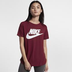 Женская футболка с коротким рукавом и логотипом Nike Sportswear EssentialЖенская футболка с коротким рукавом и логотипом Nike Sportswear Essential из мягкой легкой ткани обеспечивает длительный комфорт.<br>