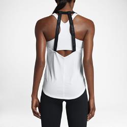 Женская майка для тренинга Nike DryЖенская майка для тренинга Nike Dry из дышащей влагоотводящей ткани обеспечивает вентиляцию и комфорт во время тренировок.<br>