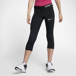 Капри для тренинга для девочек школьного возраста Nike Pro HyperCoolКапри для тренинга для девочек школьного возраста Nike Pro HyperCool из влагоотводящей ткани с зональной вентиляцией обеспечивают длительный комфорт.<br>