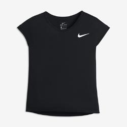 Футболка для тренинга с коротким рукавом для девочек школьного возраста Nike DryФутболка для тренинга с коротким рукавом для девочек школьного возраста Nike Dry из мягкой влагоотводящей ткани обеспечивает комфорт во время тренировки.<br>