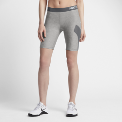 Женские шорты Nike Pro HyperCool 20 смЖенские шорты Nike Pro HyperCool 20 см из воздухопроницаемой ткани с анатомическим расположением вставок из сетки обеспечивают комфорт во время тренировки.<br>