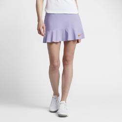 Теннисная юбка NikeCourt Power MariaТеннисная юбка NikeCourt Power Maria из сверхэластичной ткани со вшитыми шортами позволяет играть максимально результативно.<br>