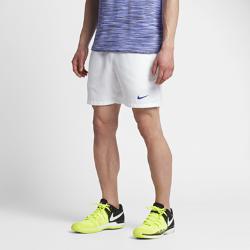 Мужские теннисные шорты NikeCourt Dri-FIT 18 смМужские теннисные шорты NikeCourt Dri-FIT 18 см из влагоотводящей ткани с разрезами по бокам обеспечивают комфорт и естественную свободу движений во время игры.<br>