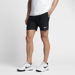 Мужские теннисные шорты из тканого материала NikeCourt Flex 18 смМужские теннисные шорты из легкого и эластичного тканого материала NikeCourt Flex длиной 18 см обеспечивают полную свободу движений во время рывков, прорывов и отраженияатак.<br>