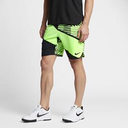 Мужские теннисные шорты из тканого материала NikeCourt Flex 23 смМужские теннисные шорты NikeCourt Flex 23 см из эластичного тканого материала с технологией влагоотведения создают ощущение прохлады и не стесняют движений во время матча.  СВОБОДА ДВИЖЕНИЙ  Тканый эластичный материал, разрезы в нижней кромке, облегающий крой и особый шов задней кокетки для динамичности и естественных движений на корте.  ВОЗДУХОПРОНИЦАЕМОСТЬ  Пояс с сетчатой подкладкой обеспечивает зональную вентиляцию во время интенсивных соревнований. Внутренний шнурок создает плотную регулируемую посадку.  УДОБНОЕ ХРАНЕНИЕ  Глубокие боковые карманы обеспечивают надежное хранение мячей и не стесняют движений во время игры.<br>