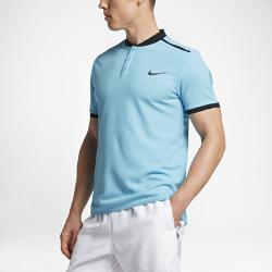 Мужская теннисная рубашка-поло NikeCourt AdvantageСОЗДАНО ДЛЯ ДВИЖЕНИЯ ИСКЛЮЧИТЕЛЬНАЯ МАНЕВРЕННОСТЬ  Мужская теннисная рубашка-поло NikeCourt Advantage — новая версия классической рубашки для современной игры. Ультралегкая и эластичная ткань обеспечивает свободу движений на любой скорости.  Скорость и концентрация  Плотная посадка и минималистичный воротник позволяют не отвлекаться от игры, а плечевые швы не дают рубашке смещаться во время замаха.  Комфорт  Технология Dri-FIT отводит влагу с кожи на поверхность ткани, где она быстро испаряется, обеспечивая комфорт.  Свобода движений  Эластичный трикотажный материал обеспечивает полную свободу движений и абсолютный комфорт. Кромка с разрезами и вставки в области подмышек увеличивают диапазон движений при замахе и беге.<br>