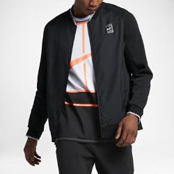 Мужская теннисная куртка NikeCourtМужская теннисная куртка NikeCourt — это инновационный вариант куртки для разминки, обеспечивающий вентиляцию, комфорт и свободу движений на протяжении всей тренировки.  Свобода движений  Твиловая ткань, которая тянется во всех направлениях, рукава покроя реглан и вставки в области подмышек обеспечивают полную свободу движений и защиту.  Воздухопроницаемость  Подкладка передней части из трикотажной сетки не прилипает к коже, обеспечивая вентиляцию и комфорт.  Комфорт  Технология Dri-FIT обеспечивает превосходную воздухопроницаемость и комфорт, выводя влагу на поверхность ткани и позволяя коже дышать.<br>