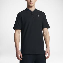 Мужская рубашка-поло NikeCourtМужская рубашка-поло NikeCourt — современное исполнение традиционной теннисной модели: мягкая высококачественная ткань, удобная конструкция без воротника и плотная посадка.<br>