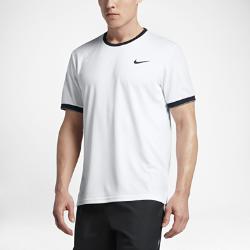 Мужская футболка с коротким рукавом NikeCourt DryМужская футболка с коротким рукавом NikeCourt Dry из влагоотводящей ткани с эргономичным дизайном обеспечивает комфорт и свободу движений во время игры.<br>