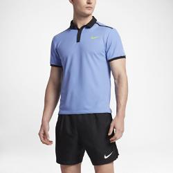 Мужская теннисная рубашка-поло NikeCourt Roger Federer AdvantageМужская теннисная рубашка-поло NikeCourt Roger Federer Advantage воплощает грациозность теннисиста в новом дизайне, обеспечивающем свободу движений и комфорт в любых условиях.<br>