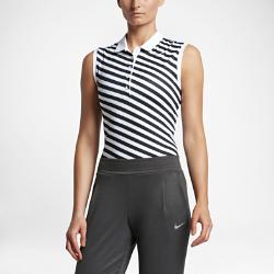 Женская рубашка-поло для гольфа без рукавов Nike Precision PrintЖенская рубашка-поло для гольфа без рукавов Nike Precision Print из эластичной влагоотводящей ткани обеспечивает комфорт и свободу движений для каждого свинга.<br>