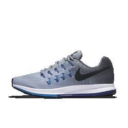 Мужские беговые кроссовки Nike Air Zoom Pegasus 33Мужские беговые кроссовки Nike Air Zoom Pegasus 33 с идеальной посадкой и адаптивной амортизацией помогут тебе легко выбрать темп и сосредоточиться на скорости.  Оптимальная амортизация  Вставки Nike Zoom Air в области пятки и носка отвечают за мягкую, адаптивную и пружинящую амортизацию.  Фиксация и комфорт  Плотно прилегающая сетка Engineered mesh обеспечивает воздухопроницаемость, а ультралегкий прочный материал Flywire превосходно поддерживает стопу.<br>