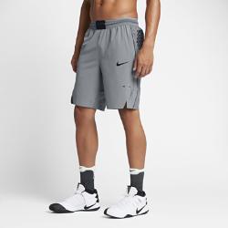 Мужские баскетбольные шорты Nike AeroSwift 23 смМужские баскетбольные шорты Nike AeroSwift 23 см обеспечивают прохладу и свободу движений для абсолютной концентрации на игре.  Легкость и вентиляция  Пояс Flyvent из дышащей сетки с перфорацией в зонах повышенного тепловыделения улучшает вентиляцию и дарит комфорт.  Свобода движений  Эластичная ткань Nike Flex, увеличенные разрезы в нижней кромке, шаговый шов 23 см и длина чуть выше колена обеспечивают полную свободу движений в любом направлении.<br>