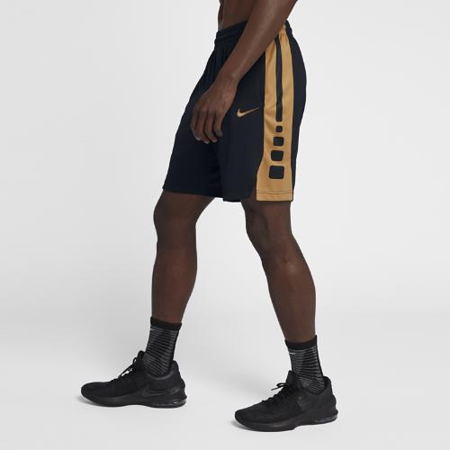 <ナイキ(NIKE)公式ストア>ナイキ エリート メンズ 23cm バスケットボールショートパンツ 831390-016 ブラック