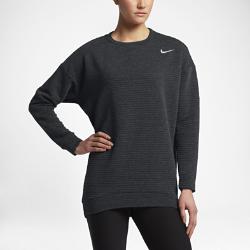 Женская футболка для гольфа с длинным рукавом Nike Bunker 3.0 CrewЖенская футболка для гольфа с длинным рукавом Nike Bunker 3.0 Crew из эластичной влагоотводящей ткани обеспечивает защиту и свободу движений в прохладную погоду.<br>