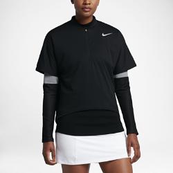 Женская куртка для гольфа Nike AeroLayer Two-in-OneФункциональная и универсальная женская куртка для гольфа Nike AeroLayer Two-in-One с влагонепроницаемым внешним слоем, невесомым утеплителем и трикотажными рукавам обеспечивает абсолютную защиту.<br>