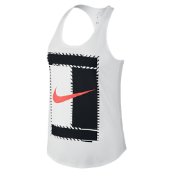 Женская теннисная майка NikeCourt DryЖенская теннисная майка NikeCourt Dry из влагоотводящей ткани обеспечивает комфорт во время игры и на каждый день.<br>