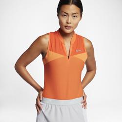Женская рубашка-поло для гольфа Nike Zonal Cooling Swing Knit RacerbackЖенская рубашка-поло для гольфа Nike Zonal Cooling Swing Knit Racerback из влагоотводящей ткани со вставками из трикотажа открытой вязки обеспечивает комфорт во время игры.<br>
