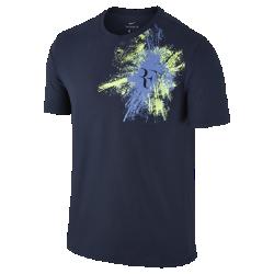 Мужская футболка NikeCourt Roger FedererМужская футболка NikeCourt Roger Federer из мягкого и прочного хлопка обеспечивает комфорт на весь день.<br>