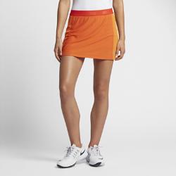 Юбка-шорты для гольфа Nike Zonal Cooling Swing Knit 35,5 смЮбка-шорты для гольфа Nike Zonal Cooling Swing Knit 35,5 см из эластичной ткани обеспечивает абсолютный комфорт во время игры.<br>