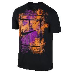 Мужская футболка NikeCourt DryМужская футболка NikeCourt Dry из мягкой влагоотводящей ткани обеспечивает комфорт.<br>